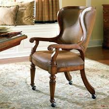 terrific poker chairs with casters custom leather eastgate by thos