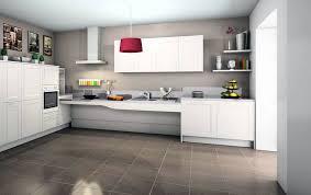 cuisine blanche carrelage gris cuisine blanche carrelage gris faience pour 5 de design lzzy co