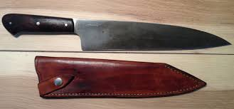 Used Kitchen Knives F S Fowler Kochi Takeda Burls