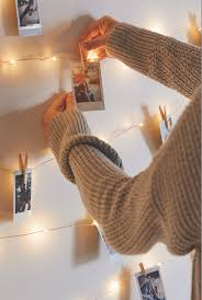 How To Hang Christmas Lights In Room Urban Outfitters Blog Uo Diy Decorating With Instax Wall
