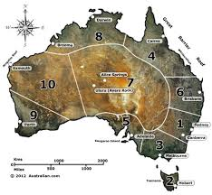 aus maps australia australian travel destinations map top 10 australian destinations