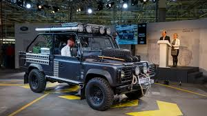 land rover defender engine land rover says next defender could be electrified