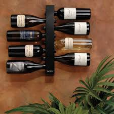 vynebar vertical wine rack 8 bottle black 5538 iwa wine