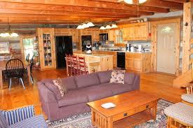 log home open floor plans large stonebridge log cabin