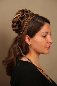 Hochsteckfrisurenen Mit Haarteil by Renaissance Mittelalter Frisur Haarteil Haarteile Alte