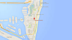 Google Map Miami by