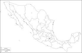 mexico free map free blank map free outline map free base map