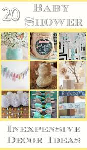 20 cheap baby shower decor ideas many items can be found at the