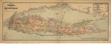 New York Central Railroad Map by Old Maps Of Long Island New York