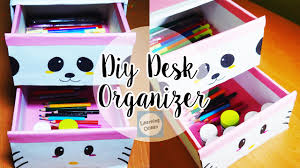 How To Make Desk Organizers by How To Make A Easy Diy Desk Organizer At Home