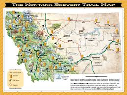 Map Of Missoula Montana by Montana Beer History Micro Breweries Craft Beers Bozeman