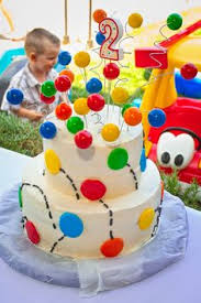 Birthday Decoration Ideas For Kids At Home Ball Pit Game For 1st Birthday Party See More First Boy Birthday