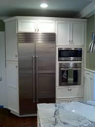 refrigerator in kitchen design high quality home design