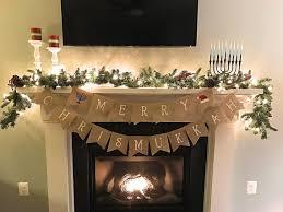 chrismukkah decorations chrismukkah banner christmas hanukkah merry chrismukkah