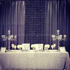 wedding backdrop linen wedding decorating wedding decorators banquet decor table