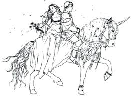 coloring pages princess horse disney flowers
