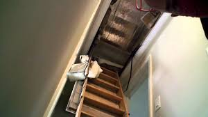 attic door cover repair youtube
