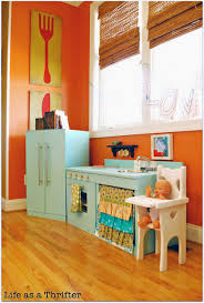 diy play kitchen ideas a rainbow of colorful diy play kitchen design ideas