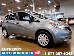 nissan versa note manual auto durocher used nissan versa note 2014 for sale in laval
