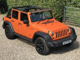 jeep rubicon orange used 2009 jeep wrangler unlimited sport for sale in