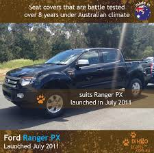 Ford Ranger Truck Seats - front u0026 rear seat covers fr11hb r dingo trails