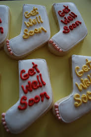 get well soon cookies the baking sheet get well soon firefighter jim