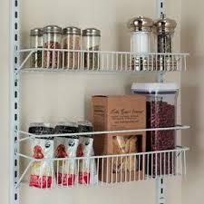 Kitchen Wall Shelf Amazon Com Closetmaid 1233 Adjustable 8 Tier Wall And Door Rack