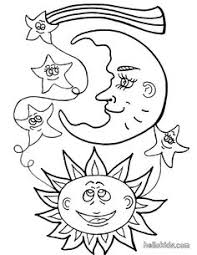 20 free printable star coloring pages moon star