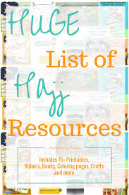 hajj steps huge list of hajj resources for kids the muslimah guide
