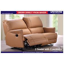 2 Seater Recliner Sofa Prices 2 Seater Reclining Sofa P U Leather Sofa Brand New Free