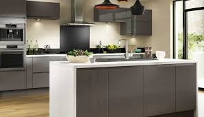 Dove Grey Kitchen Cabinets Entertain In Style With The Stunningly Chic Holborn Gloss Grey