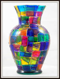 how to decorate vases glass vase decorating ideas glass painting ideas for beauty