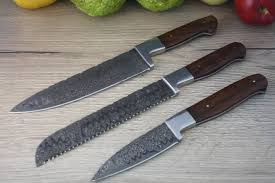 damascus steel kitchen knives damascus steel kitchen knives carbon steel chef knife jegger au