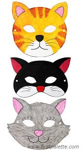 cat masks free printable animal masks printable animal
