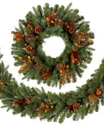christmas garland countryside christmas wreath tree classics