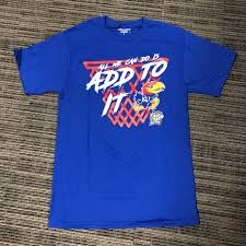 kansas jayhawks fan gear ku final four where to buy created four this shirts and other