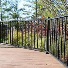 shop metal deck railing westbury fortress deckorators and
