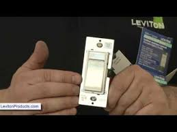 leviton dimmer light switch how to install leviton dimmer switch levitonproducts com youtube