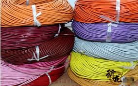 colored necklace cords images 15colors lot 2mmx 30m 100 genuine round leather cord strips jpg