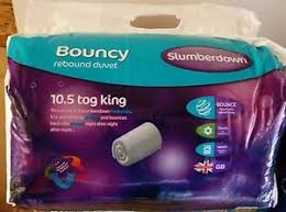 10 5 Tog Duvet Kingsize Slumberdown Bouncy 10 5 Tog Duvet Double Tesco Instore 5