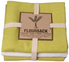 now designs kitchen towels lime green floursack tea towel by now designs