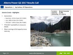 alterra power corp 2017 q2 results earnings call slides