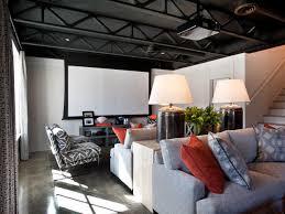 14 smart design ideas for underused basements hgtv u0027s decorating