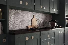 kitchen tile pattern ideas renovations moroccan tile inspiration patchwork nuetrals