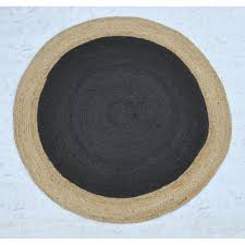 Black Round Rug Rugs U0026 Floor Coverings Homewares