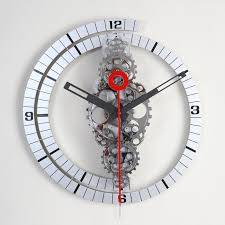 contemporary wall clock stylish wooden wall clocks with modern