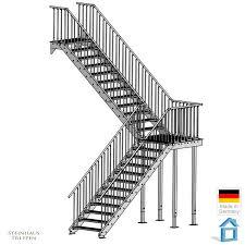 steinhaus treppen treppenzugang in din breite 100 cm vierten gewendelt zur zweiten
