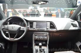 seat ateca seat ateca dashboard at the geneva motor show live indian autos blog