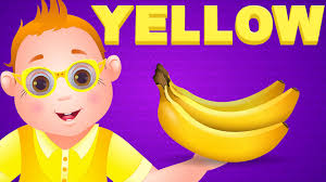 colors yellow color songs the yellow song learn colours preschool colors