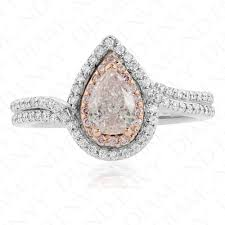 light pink engagement rings pink engagement rings light pink 0 61ct envy